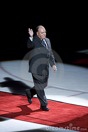 Scotty Bowman Editorial Image