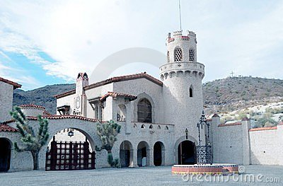 Scotty s Castle Editorial Photography
