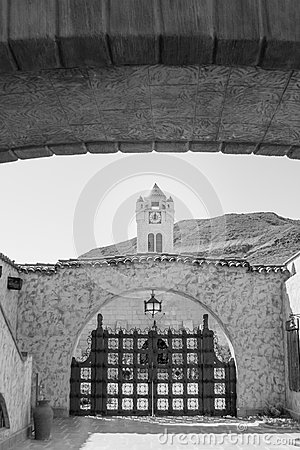 Free Scotty S Castle Death Valley, California Royalty Free Stock Photo - 43221965