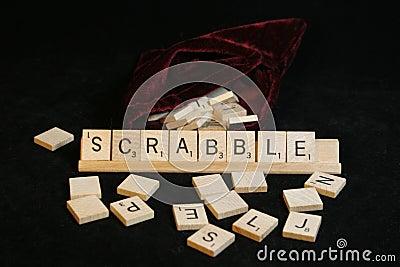 Scrabble Editorial Photo