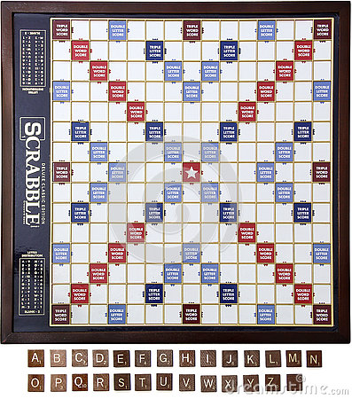 Free Scrabble Board & Tiles Stock Photo - 76894690