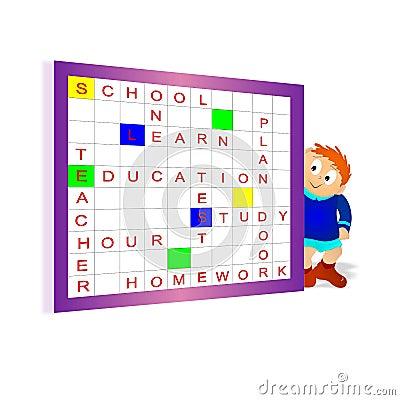 Scrabble, cdr vector