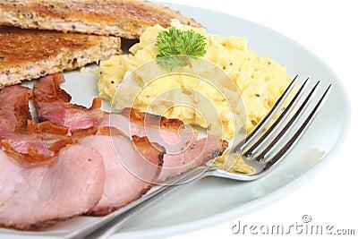Scrambled Egg & Bacon