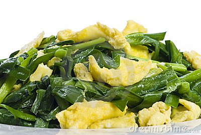 Scrambled Eggs and Chives
