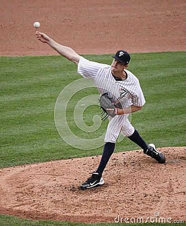 Scranton Wilkes Barre pitcher, Andrew Brackman Editorial Image