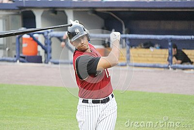 Scranton Wilkes Barre  Railriders' Alex Rodriguez Editorial Photography
