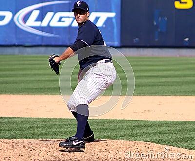 Scranton Wilkes Barre Yankee pitcher George Kontos Editorial Image