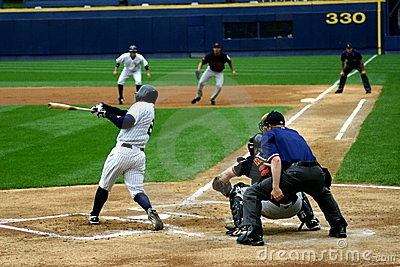 Scranton Wilkes-Barre Yankees batter Editorial Stock Photo