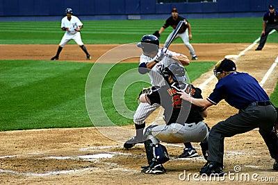 Scranton Wilkes-Barre Yankees batter Editorial Photography