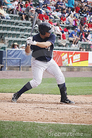Scranton Wilkes Barre Yankees batter Jorge Vasquez Editorial Stock Photo