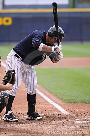 Scranton Wilkes Barre Yankees batter Jorge Vasquez Editorial Stock Photo