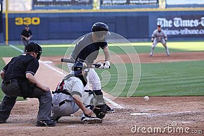 Scranton Wilkes Barre Yankees batter Jorge Vasquez Editorial Stock Image