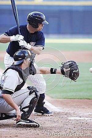 Scranton Wilkes Barre Yankees batter Jorge Vasquez Editorial Image