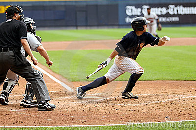 Scranton Wilkes Barre Yankees batter Kevin Russo Editorial Photo