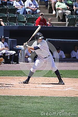 Scranton Wilkes Barre Yankees batter Luis Nunez Editorial Stock Photo