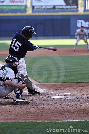 Scranton Wilkes Barre Yankees batter Luis Nunez Editorial Stock Image