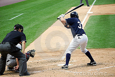 Scranton Wilkes Barre Yankees batter Mike Lamb Editorial Stock Photo