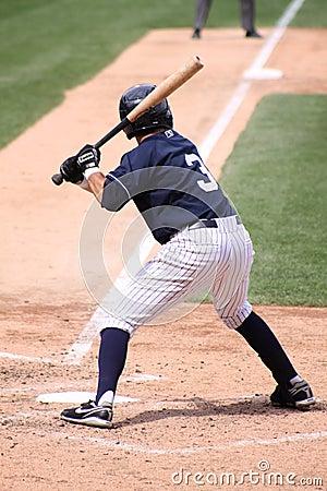 Scranton Wilkes Barre Yankees batter Ray Kruml Editorial Stock Image