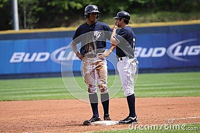 Scranton Wilkes Barre Yankees Justin Maxwell Editorial Photo