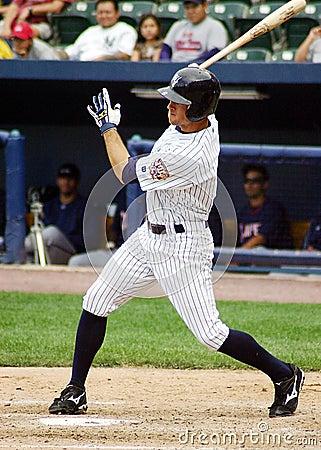 Scranton Wilkes Barre Yankees ourtfielder Brett Ga Editorial Photo