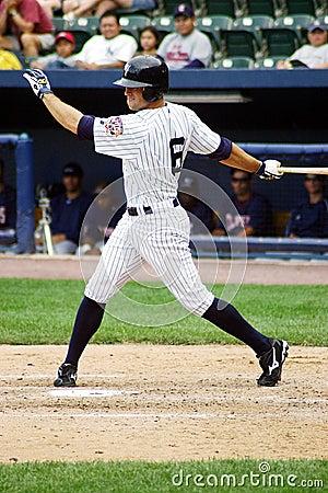 Scranton Wilkes Barre Yankees ourtfielder Brett Ga Editorial Image