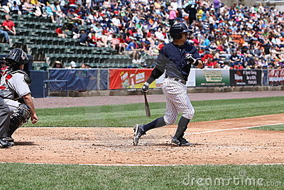Scranton Wilkes Barre Yankees Ramiro Pena Editorial Photo
