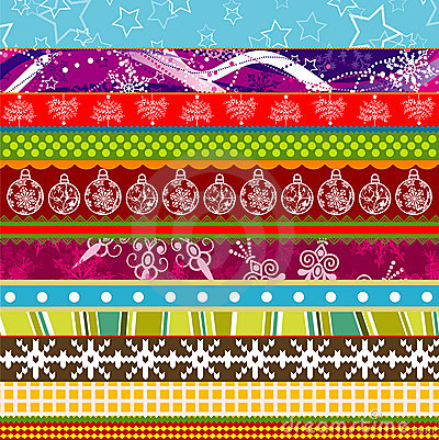 Scrapbook christmas patterns for design