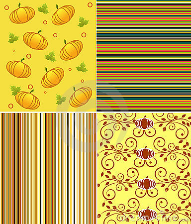 Scrapbook halloween patterns