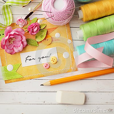Free Scrapbook Materials Royalty Free Stock Images - 118411389