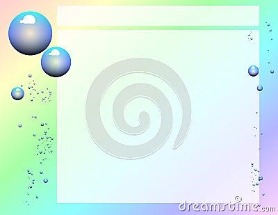 Scrapbook Page (Bubbles)
