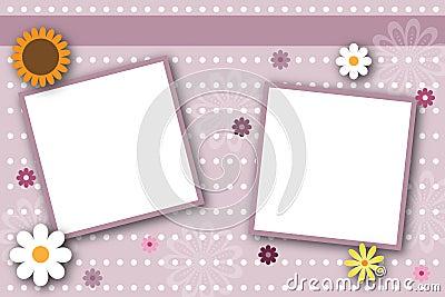 Scrapbook page frames