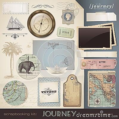 Free Scrapbooking Elements: Journey Stock Photos - 20633123