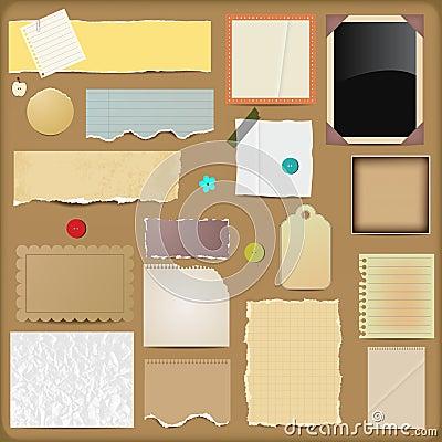 Scrapbooking Elements - Papers