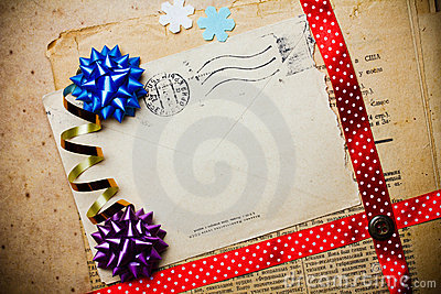 Scrapbooking template
