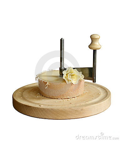 Scraping Device of Swiss Cheese Tete de moine