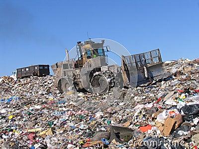 Scrapyard scenery