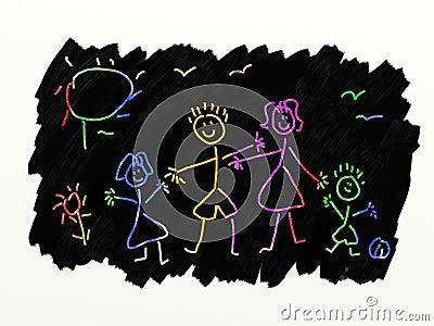 Scratch Art - Family
