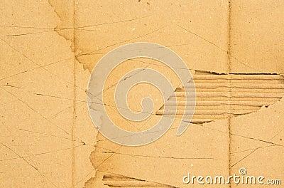 Scratch cardboard