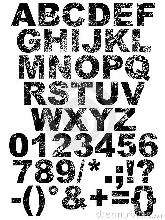 scratch font stock images image 4818164