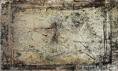 Scratched antique background