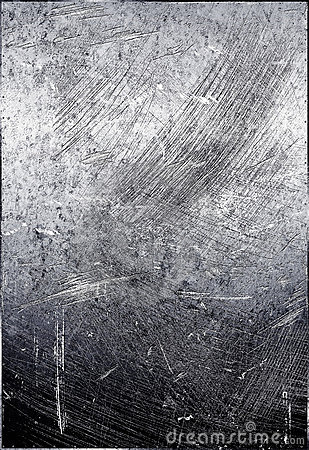 Scratched metal grunge