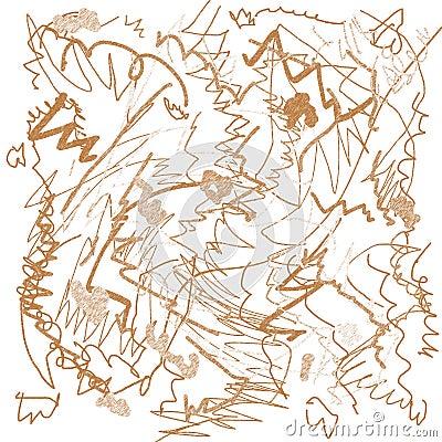 Scrawl drawing