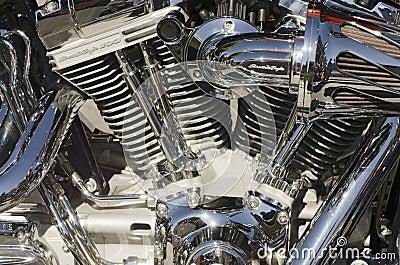 Scream Eagle Motorcycle Editorial Stock Photo