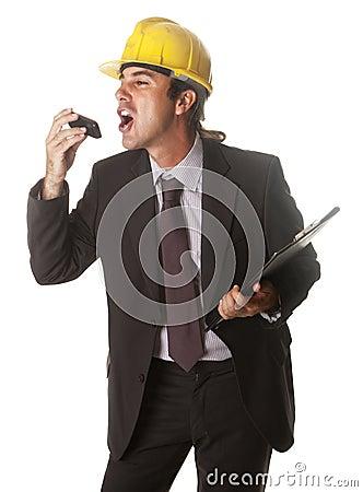 Free Screaming Boss Stock Image - 25903531