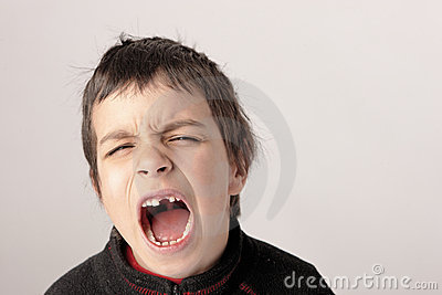 Screaming boy 2