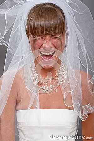 Screaming bride