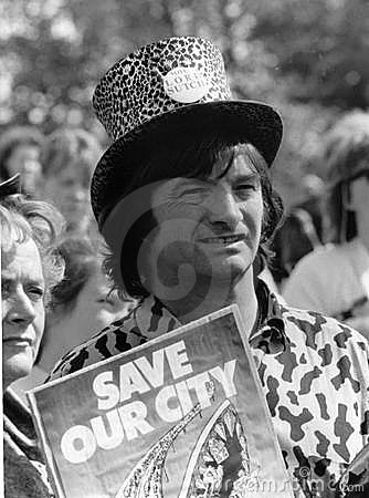 Screaming Lord Sutch Editorial Stock Image