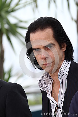 Screenwriter Nick Cave Editorial Photography