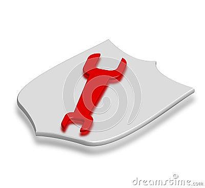 Screw key