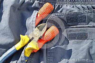 Screwdrivers pliers